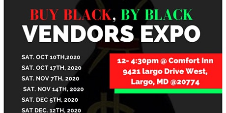 Buy Black By Black Vendors Expo tickets