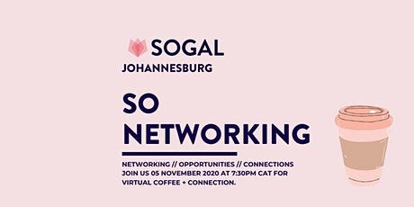So Networking Johannesburg tickets