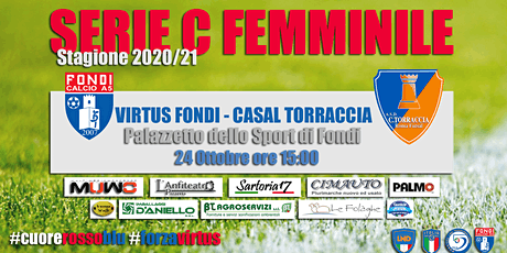Virtus Fondi - Casal Torraccia biglietti