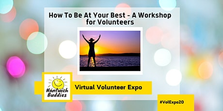 How To Be At Your Best – A Workshop for Volunteers tickets
