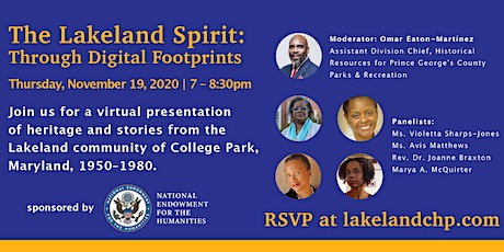 The Lakeland Spirit: Through Digital Footprint tickets