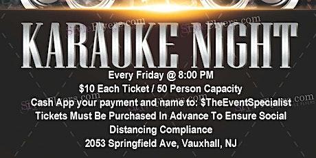 Karaoke Fridays tickets