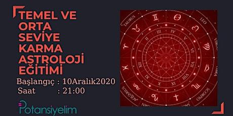 Temel ve Orta Seviye Karma Astroloji Eğitimi tickets