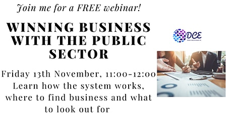 Winning business with the Public Sector tickets