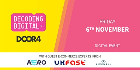 E-commerce Performance with Paul White, Richard Bendelow and James Batty tickets