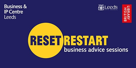 Reset. Restart: business advice sessions tickets