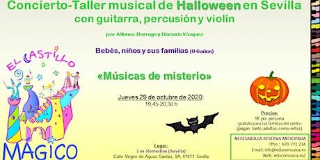 Concierto-Taller musical de Halloween en Sevilla. entradas