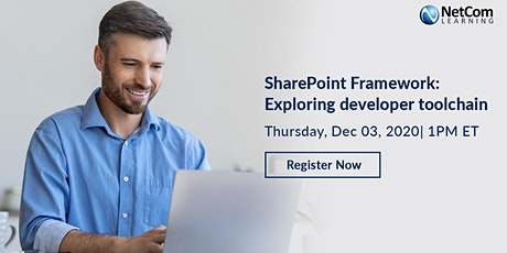 Webinar - SharePoint Framework: Exploring developer toolchain tickets