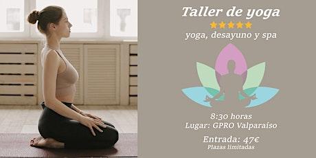 Taller de Yoga y Bienestar entradas