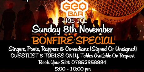 Give Me The Mic - Bonfire Special - Table Only Event tickets