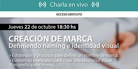 Creación de Marca - Definiendo naming e identidad visual entradas