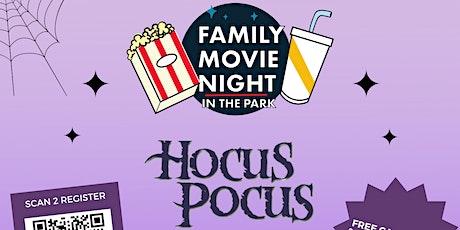 Movie in the Park- Hocus Pocus tickets