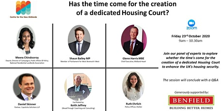 Has the time come for the creation of a dedicated Housing Court? tickets