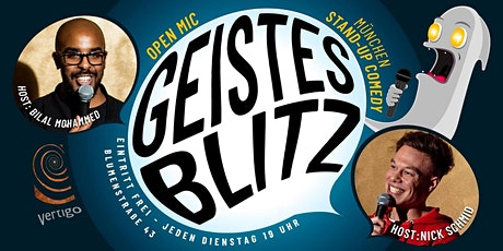 Geistesblitz - Comedy Open Mic Tickets