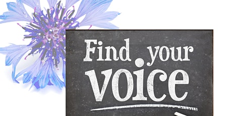 Find Your Voice + Presentation on ZOOM workshop tickets