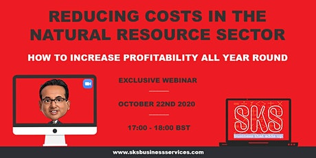 Reducing Costs in the Natural Resource Sector Webinar tickets