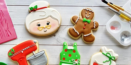 Baking with Mrs. Claus Intermediate Cookie Decorating Class - Spring Hill tickets