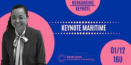HERKANSING: Keynote // Maritime tickets