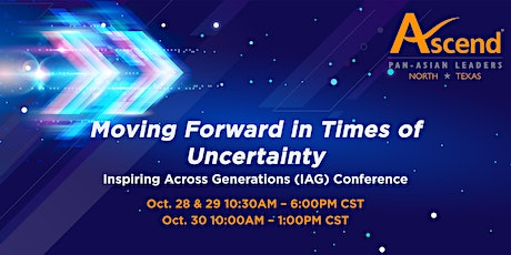 Moving Forward in Times of Uncertainty:  IAG Conference tickets