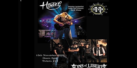 Howie G Plus Sons of Liberty live Eleven stoke tickets
