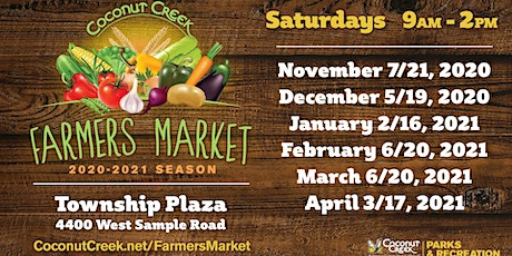 Coconut Creek Farmers Market tickets