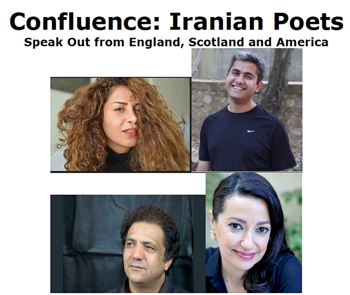 Exiled Writers Ink Presents  Confluence: Iranian Poets  Speak Out image