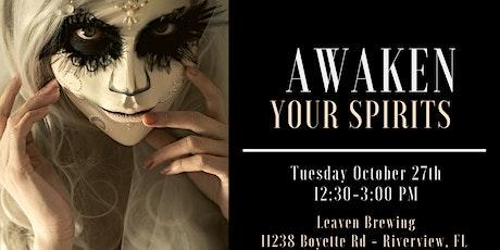 """Awaken Your Spirits"". Halloween Real Estate Agent Networking Event tickets"