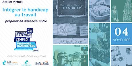 Atelier virtuel Handicap - Spécial SEEPH (Démo) billets