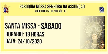 PNSASSUNÇÃO CABO FRIO - SANTA MISSA - SÁBADO - 18 HORAS - 24/10/2020 ingressos