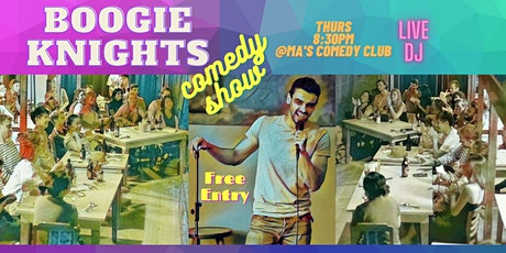 Boogie Knights English Comedy Show *NEW YEARS EVE SPECIAL* tickets