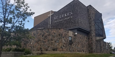 Copy of Register for Sunday Mass at St. Luke's Parish R.C. tickets