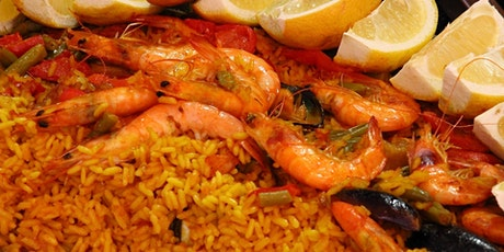Date night Paella Hands on Cooking Class tickets