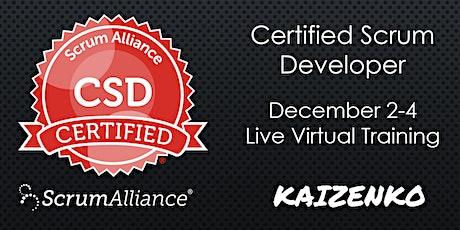 Online Certified Scrum Developer(CSD) Track - Agile Engineering Practices tickets