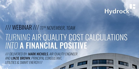 Turning air quality cost calculations into a financial positive tickets