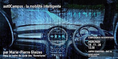"""Conférence """"autOCampus : la mobilité intelligente"""" par Marie-Pierre Gleizes billets"""
