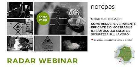 MOGC 231 e ISO 45001 come rendere efficace e dimostrabile il protocollo SSL biglietti