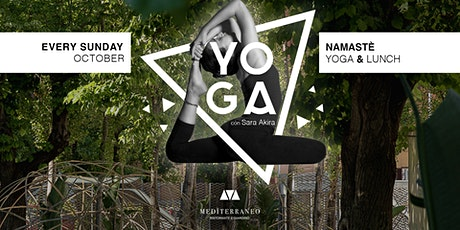 NAMASTÉ - YOGA & LUNCH | MEDÏTERRANEO AL MAXXI tickets