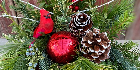 Winter Greenery Container Workshop Dec 4 1 PM tickets