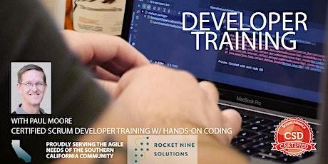 Paul Moore|Certified Scrum Developer-Tech Practices-CSD| Online |Jan.2021 tickets