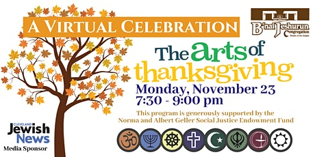 The arts of thanksgiving - A Virtual Celebration tickets