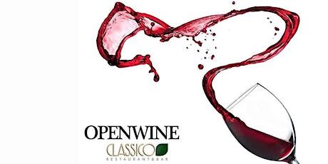 OPENWINE - CLASSICO- Exclusive Lounge biglietti