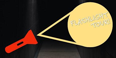 Thomas Edison Depot Flashlight Tour! tickets