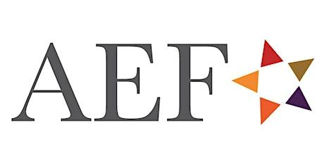 AEF's Fireside Chat with Jessie K. Liu tickets