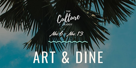 Art & Dine @ The Bun Hut tickets
