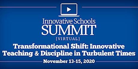 VIRTUAL Innovative Schools Summit : November 13-15, 2020 tickets