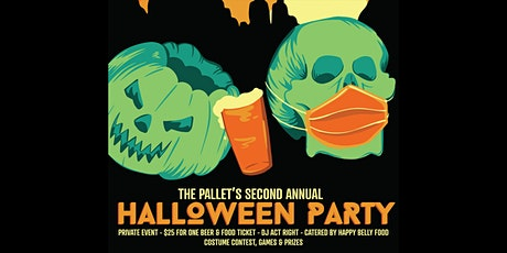 The Pallet Annual Halloween Party tickets