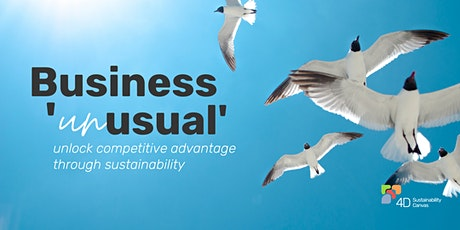 Business 'unusual' - unlock competitive advantage through sustainability tickets