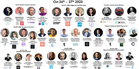 MeetFounders VC Investment Event (Oct 2020) tickets