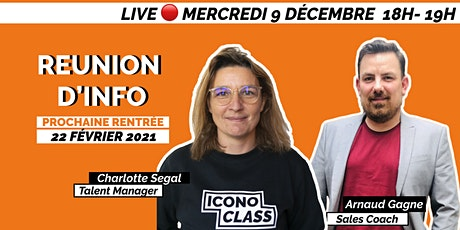 Réunion d'information iconoClass tickets