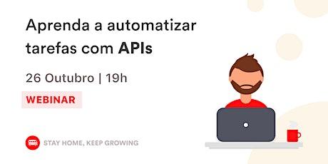 Aprenda a automatizar tarefas com APIs | Le Wagon SP tickets